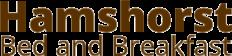 B&B de Hamshorst Logo